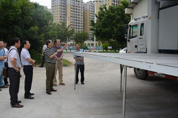 广西玉林技师学院领导到我校进行高技能培训基地建设交流